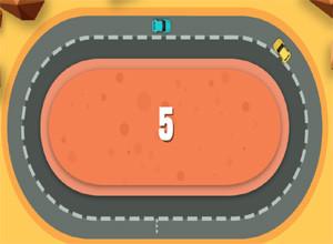 لعبة سباق السيارات المتصادمة