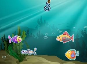 لعبة صيد اسماك المحيط
