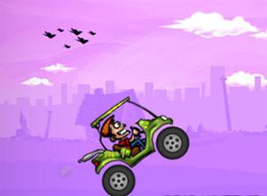 لعبة عربة الجولف المجنونه