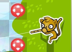لعبة تصويب القرود