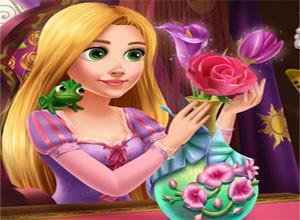 لعبة اناء الزهور