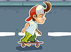 لعبة فتى الزلاجة المشاكس