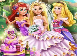 لعبة زفاف الجميله ريبونزيل
