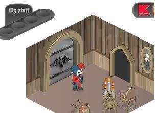 لعبة قصر الاشباح
