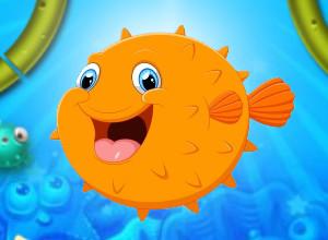 لعبة سمكة النفيخة