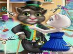 لعبة القطه مصممة الازياء