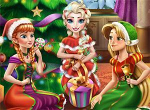 لعبة حفلة الكريسماس