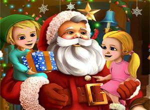 لعبة مفاجأة سانتا كلوز