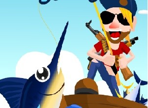 لعبة القرصان وصيد السمك