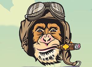 لعبة القرد الماهر الطيار