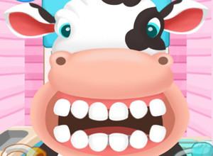 لعبة علاج اسنان الحيوانات