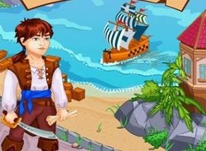 لعبة مغامرات حرب السفن