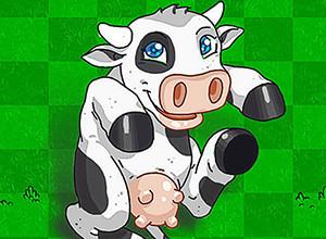 لعبة البقرة الضاحكة والبوكر
