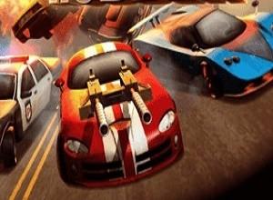 لعبة حرب سيارات الصحراء