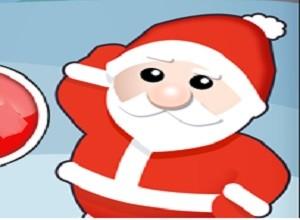 لعبة وصول الهدايا الي بابا نويل