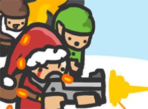 لعبة حرب بابا نويل