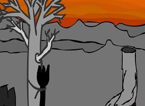لعبة التعذيب في الشجرة