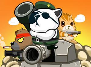لعبة الباندا المقاتل والقط والدب القطبى