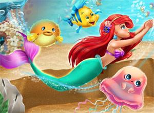 لعبة عروس البحر الجميله
