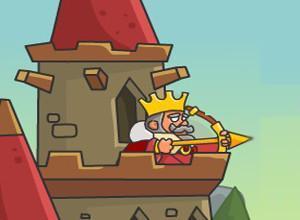 لعبة حماية قلعة الملك