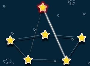 لعبة توصيل النجوم
