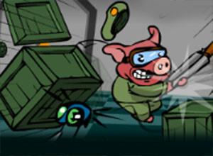 لعبة الخنزير المقاتل