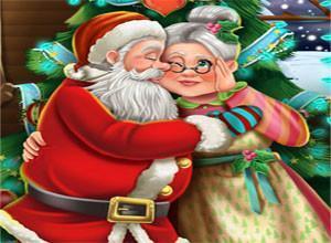 لعبة سانتا كلوز و زوجته