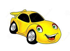 لعبة ركن السيارة الصفراء الشقيه