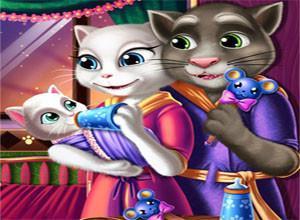لعبة القطه الرضيعه