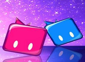 لعبة مكعبات السكر الملونه