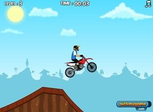 لعبة الدراجة النارية