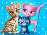 لعبة صالون القطط الجميلة