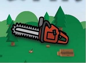 لعبة قطع الشجر