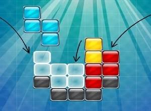 لعبة ترتيب المكعبات الملونة