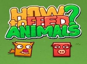 لعبة إطعام الحيوانات