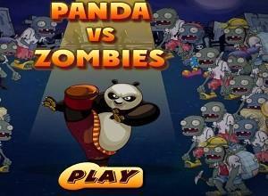لعبة قتال الباندا ضد الزومبي