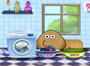 لعبة بو غسل الملابس
