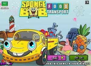 لعبة سبونج بوب توصيل الطعام