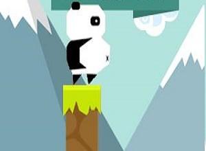 لعبة قفز الباندا