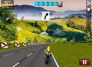 لعبة متسابق الدراجة الخارقة
