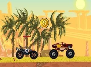 لعبة تحدي الشاحنات المجنون