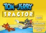 لعبة دراجة توم و جيري الزراعية