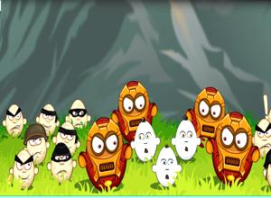 لعبة تكسير البيض