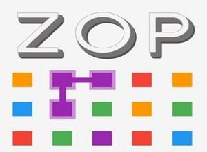 لعبة zop المربعات الملونة