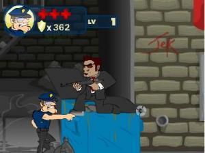 لعبة الشرطي المغامر