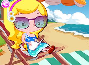لعبة فتاة الشاطئ