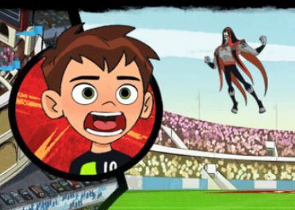 لعبة مواجهة كرة القدم