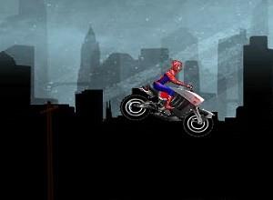 لعبة دراجة سبايدرمان