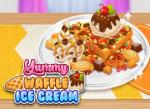 لعبة طهي حلويات الوافل اللذيذ . لعبة الطبخ الحصرية .