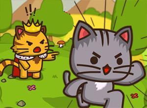 لعبة القطة المشاكسه